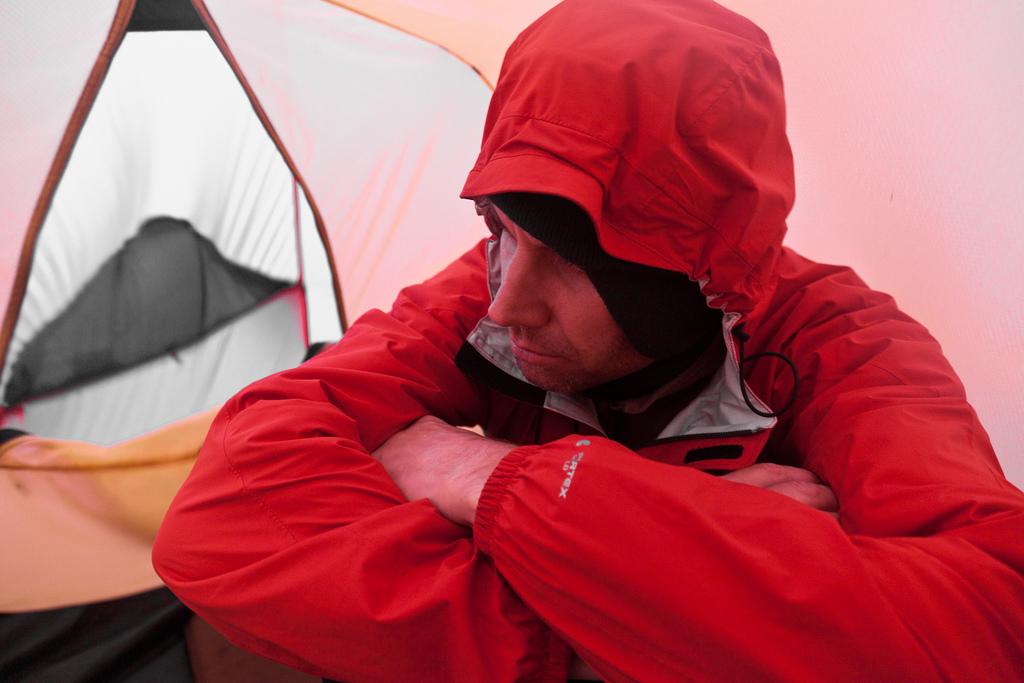 Поход по Исландии - усталость, холод, дождь