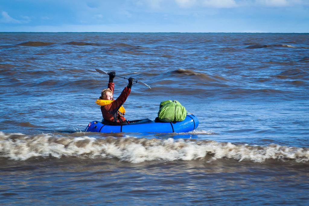 Океан и конец маршрута