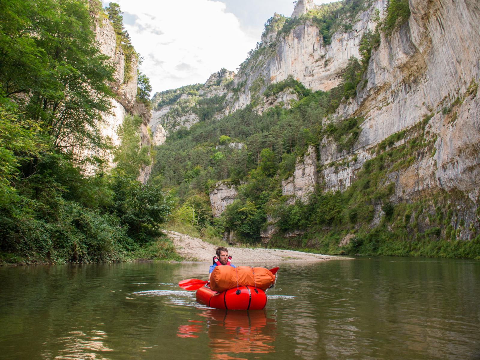 Сплав по каньону Ле Детруа