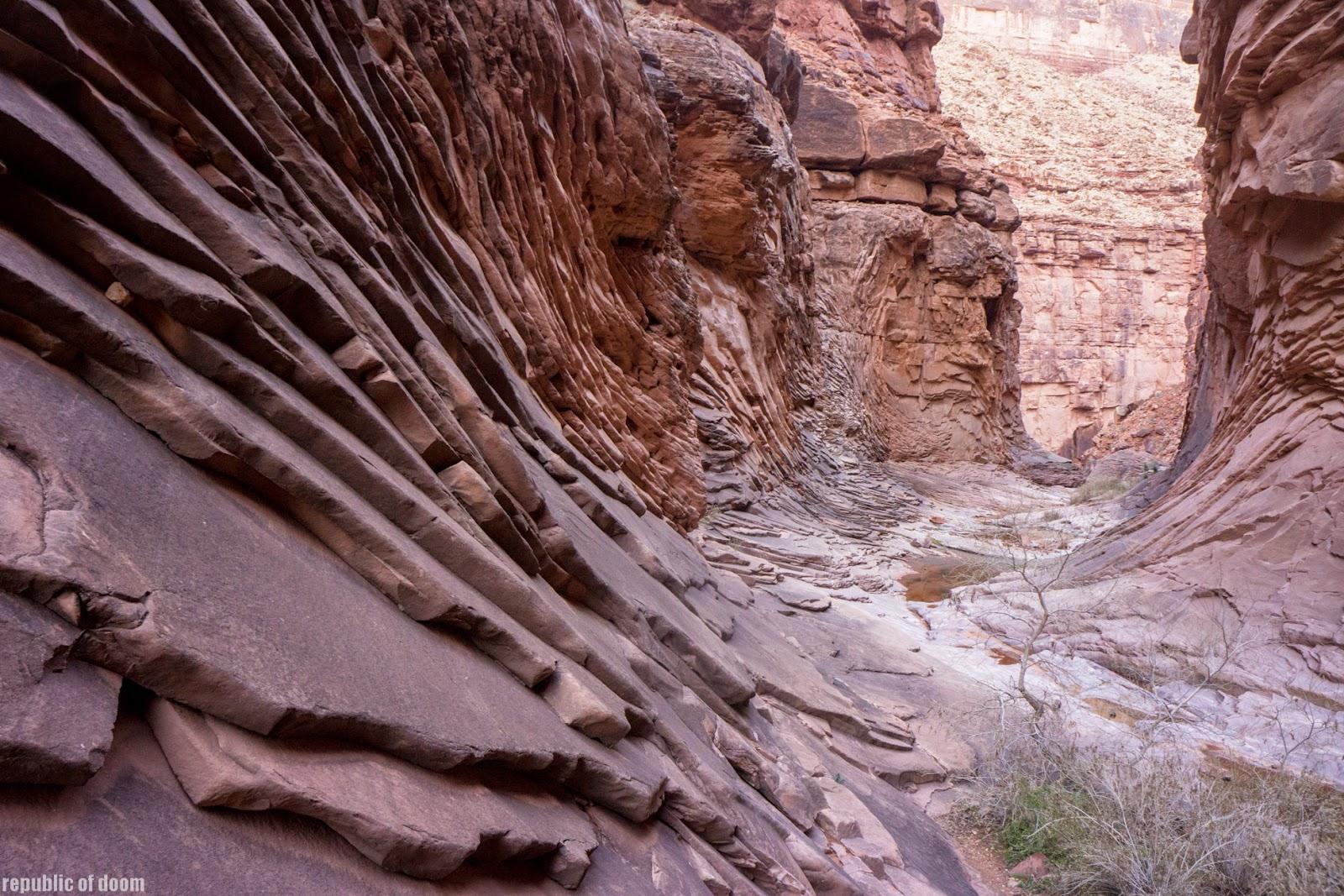 Пейзажи Большого каньона