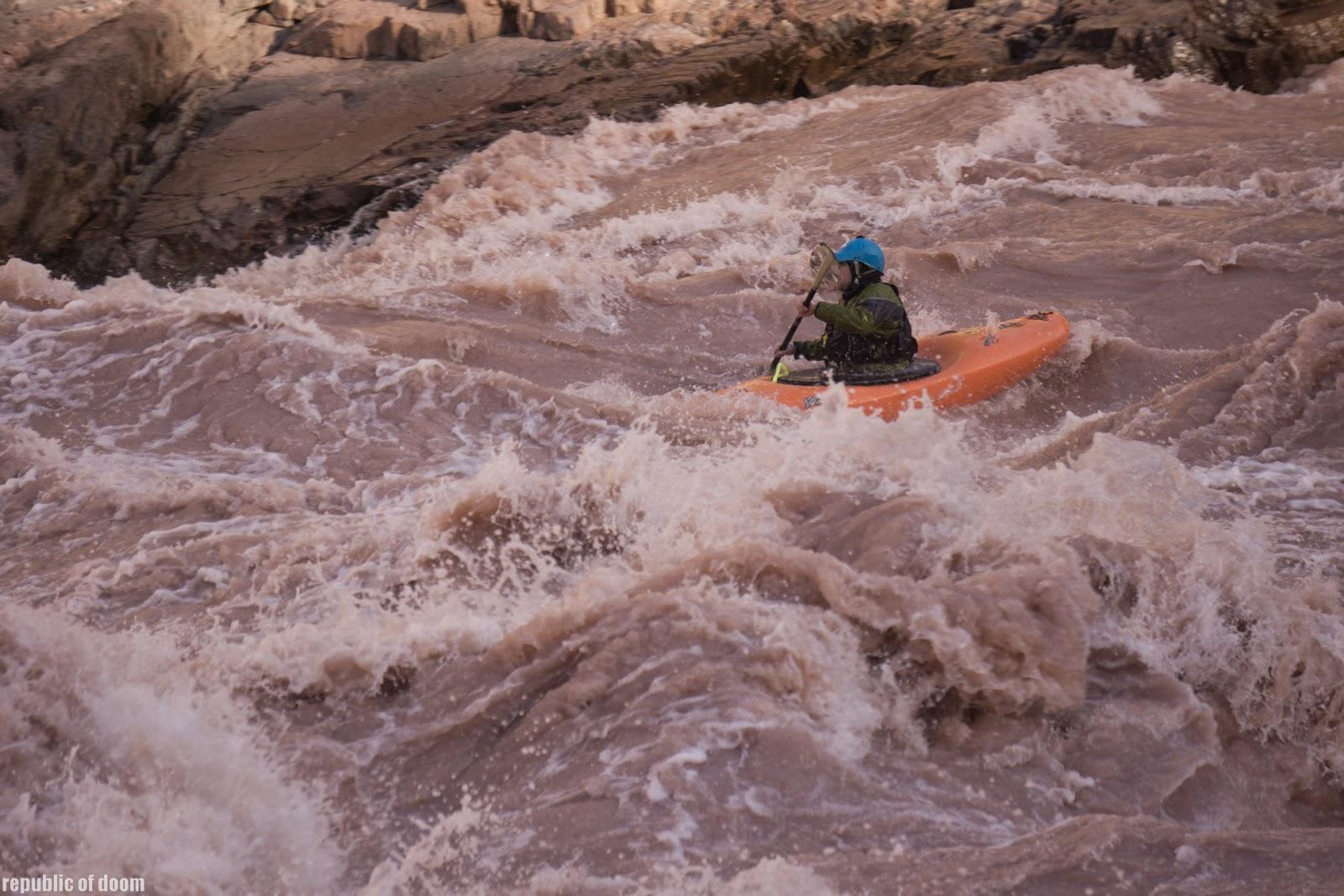 Сплав в Большом каньоне