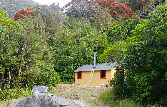 Хижина в Новой Зеландии