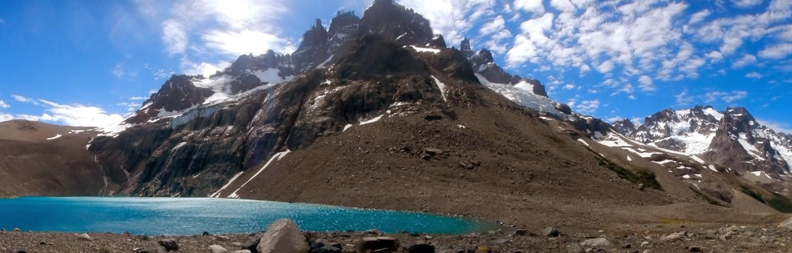 Лагуна и горы