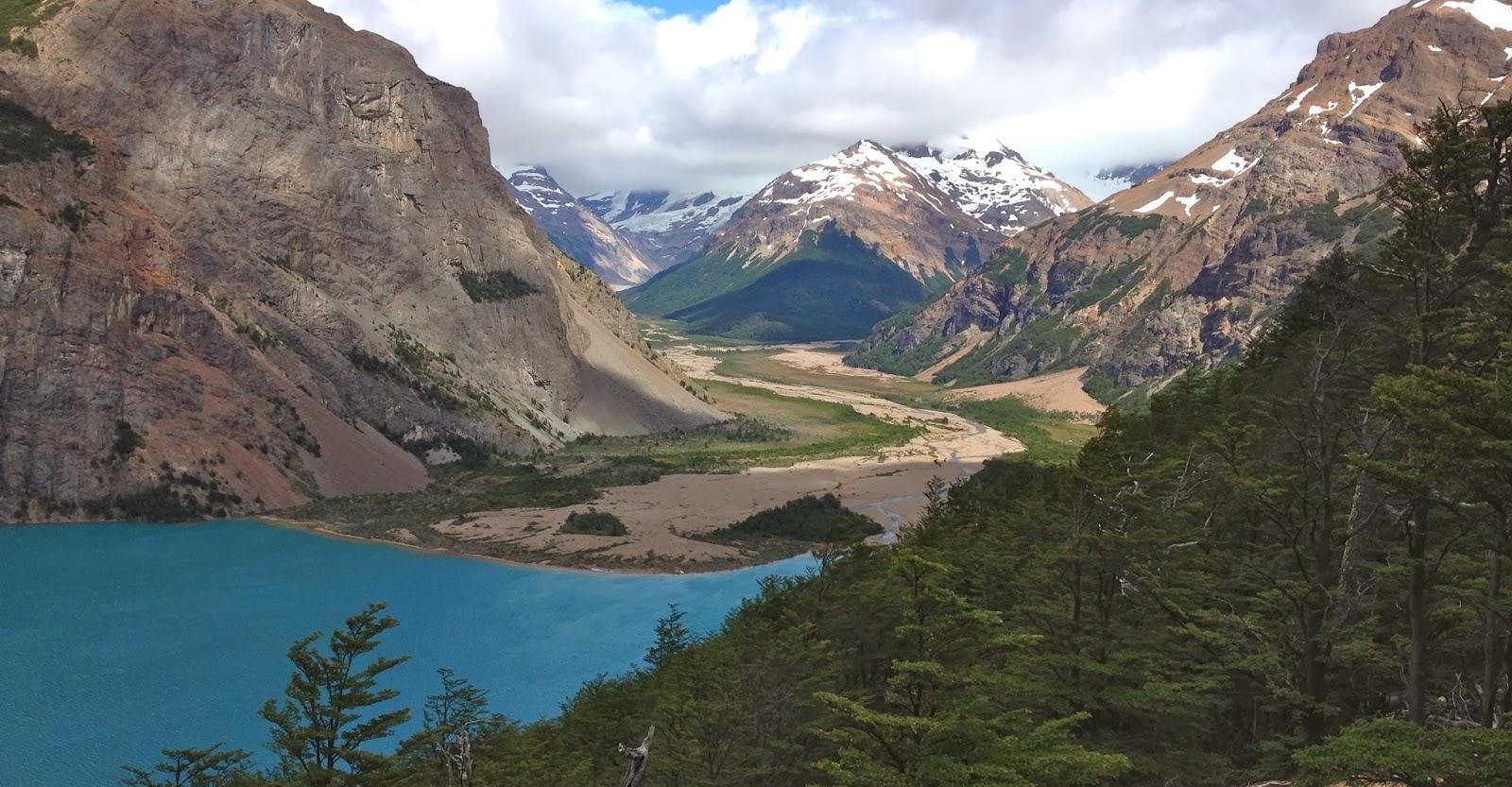 Горный пейзаж Патагонии